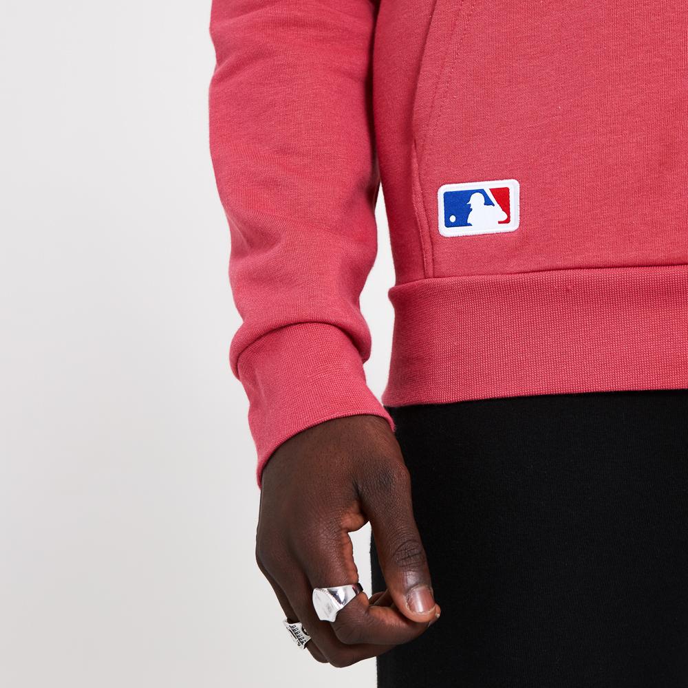 Felpa con cappuccio Seasonal Team dei Los Angeles Dodgers rosa