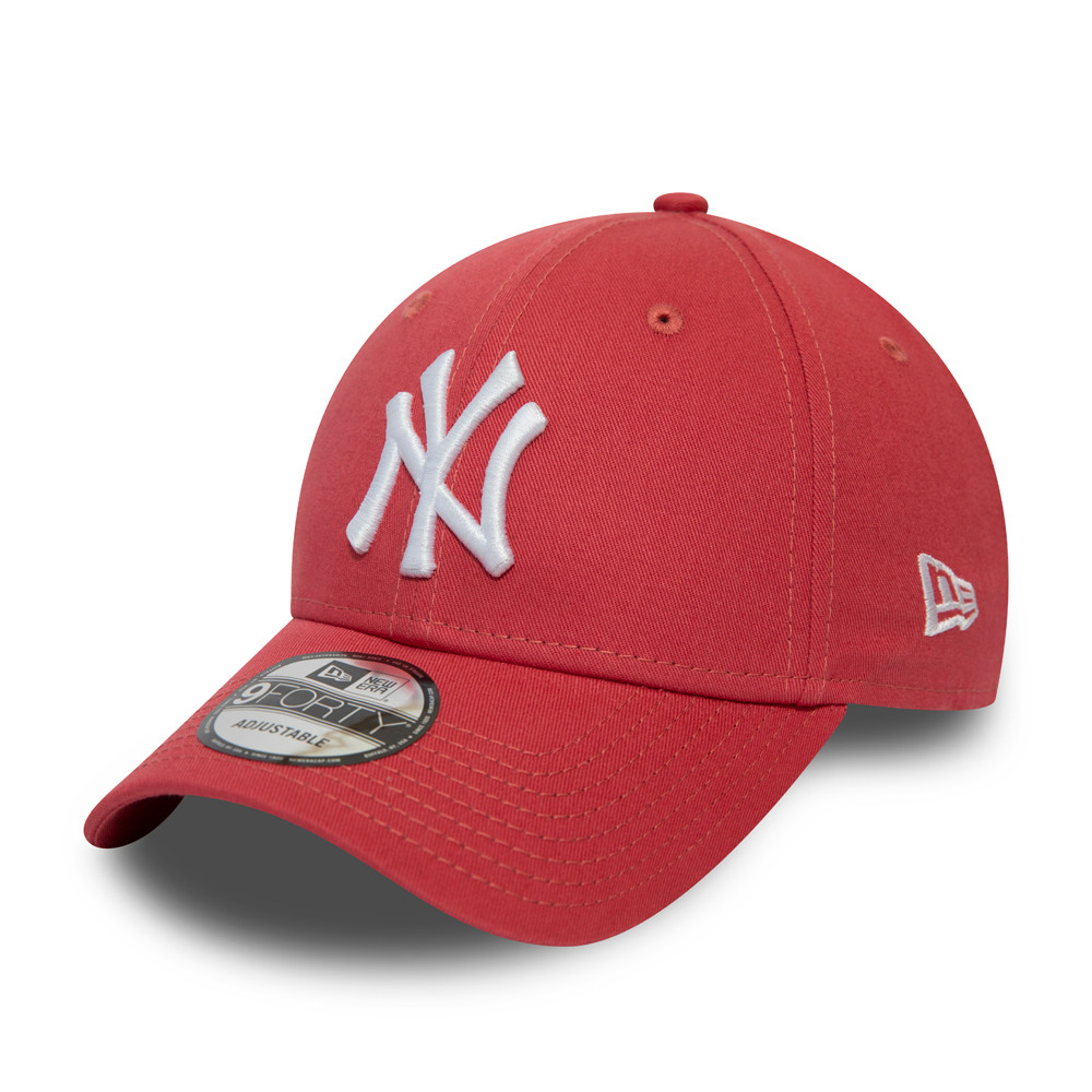 Gorra New York Yankees Essential 9FORTY, coral