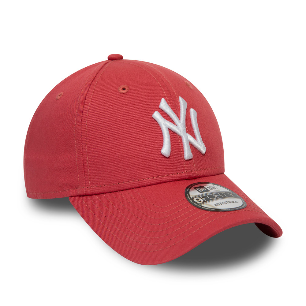 Cappellino New York Yankees Essential 9FORTY corallo