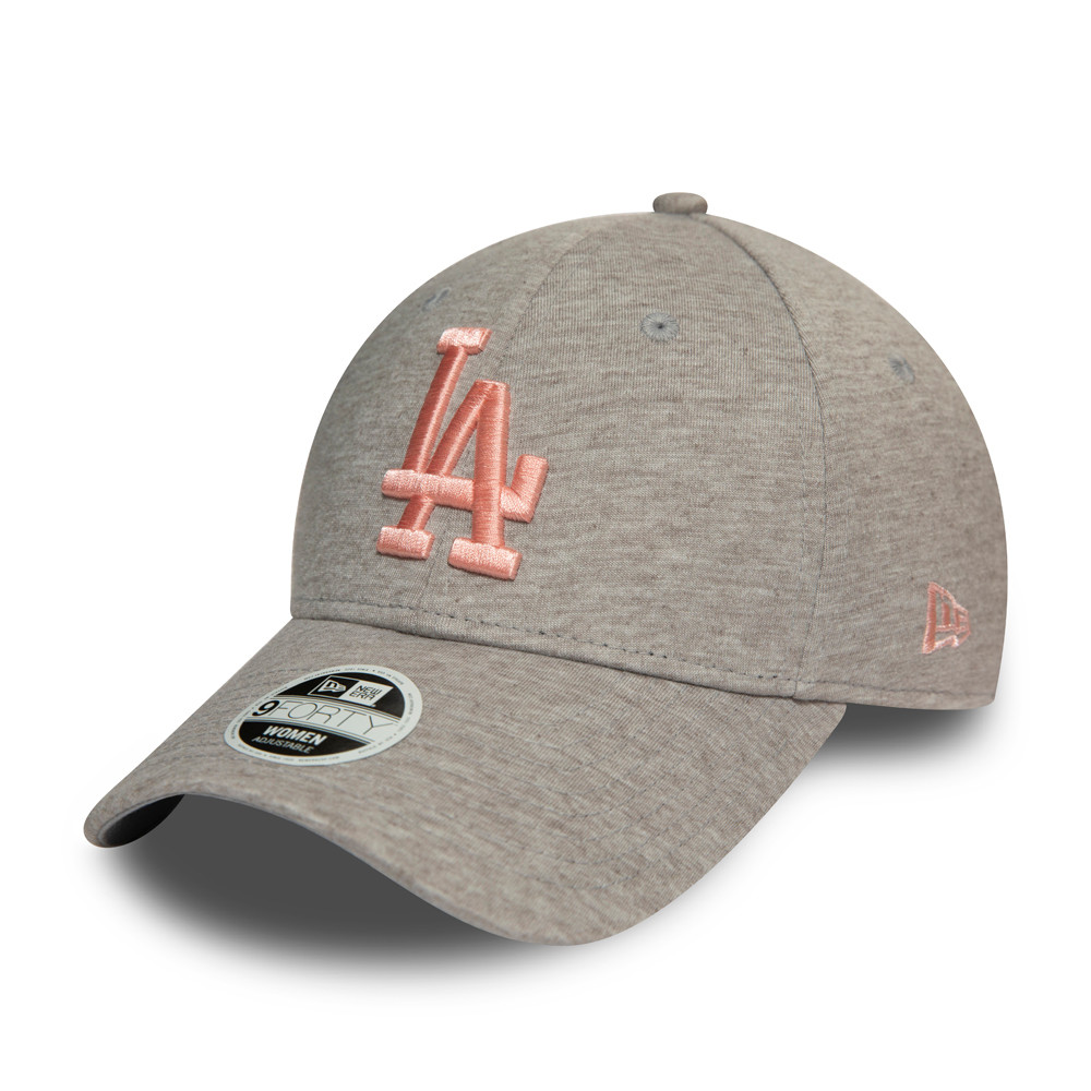 Gorra Los Angeles Dodgers 9FORTY mujer, gris