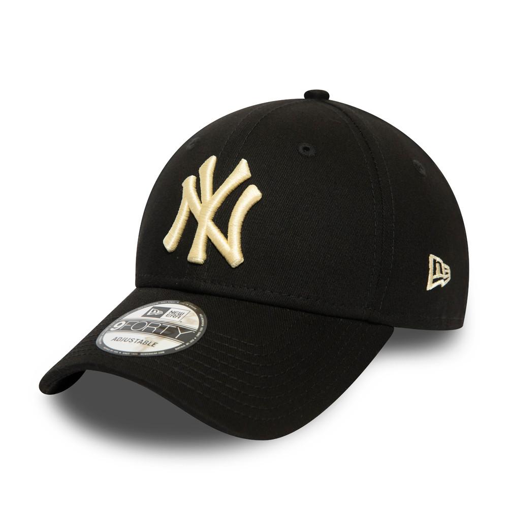 Schwarze 9FORTY-Kappe – New York Yankees – Damen