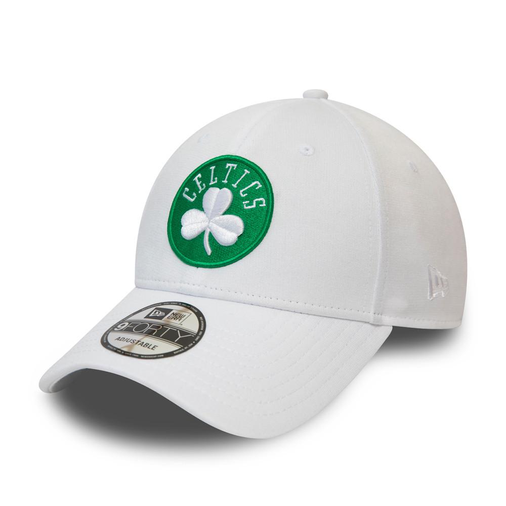 Cappellino 9FORTY Shadow Tech dei Boston Celtics bianco