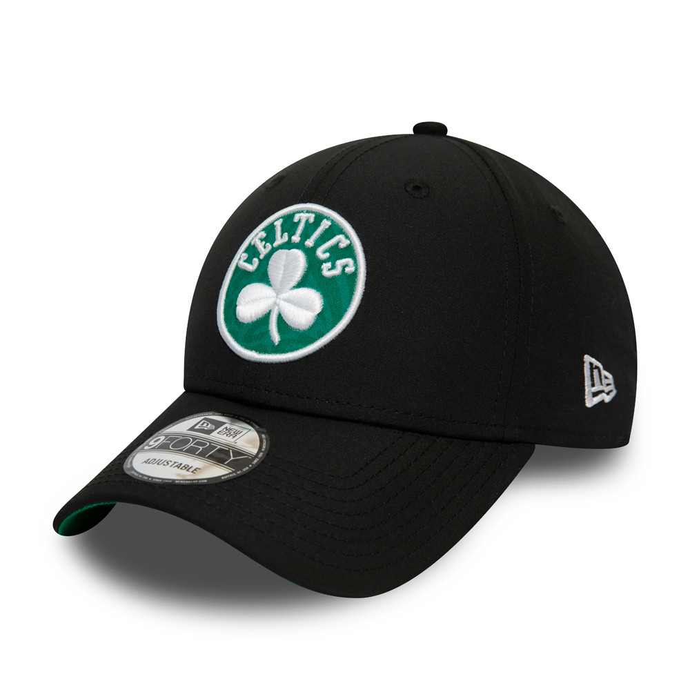 Boston Celtics Hook Black 9FORTY Cap