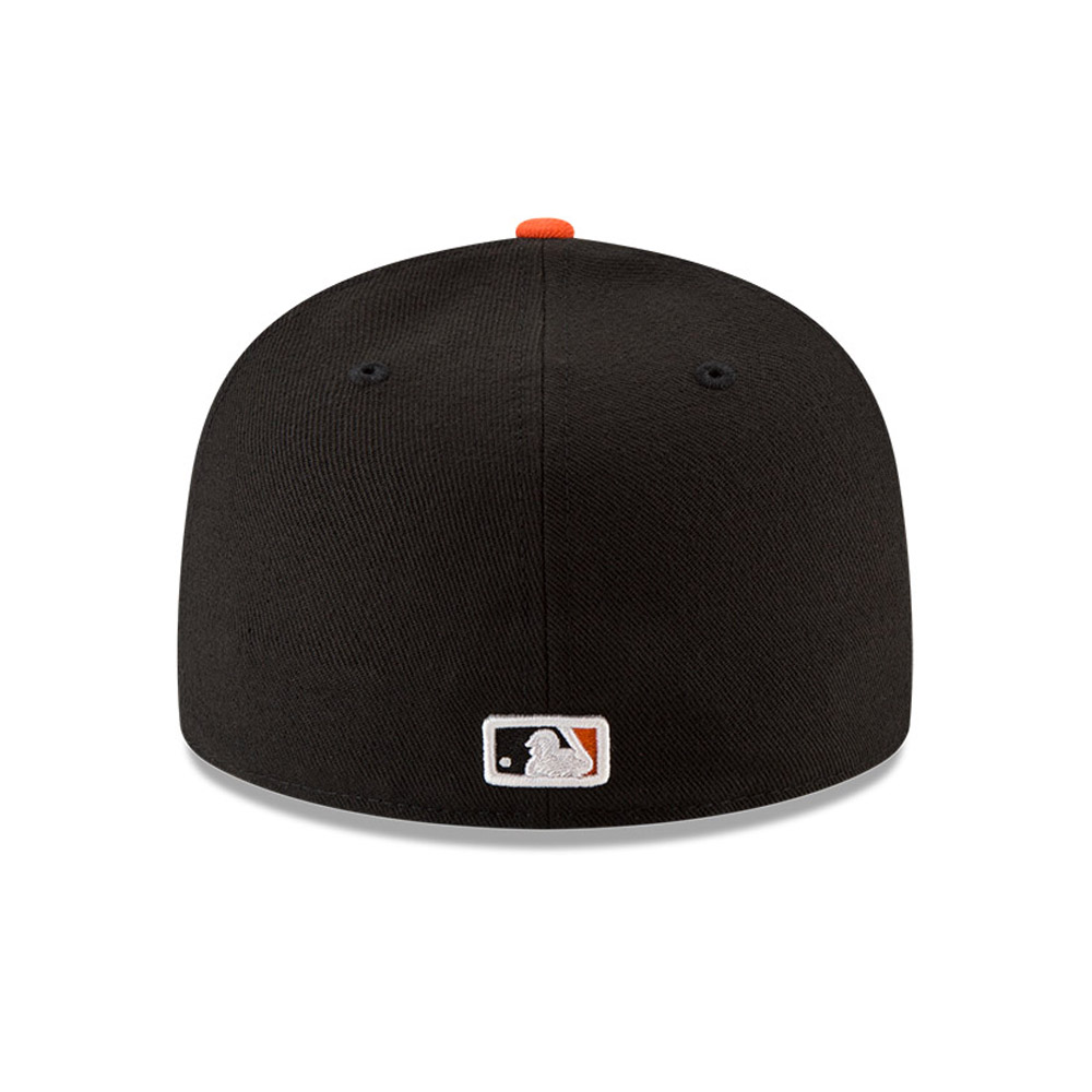 San Francisco Giants On Field Game Black 59FIFTY Cap