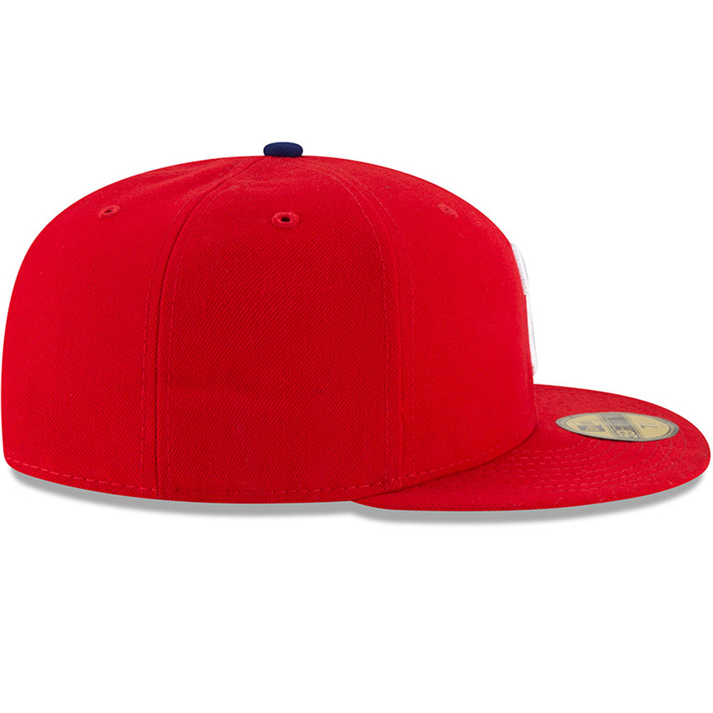 Philadelphia Phillies On Field Game Red 59FIFTY Cap