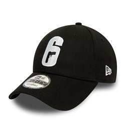 Gorra Rainbow Six Siege 9FORTY, negro