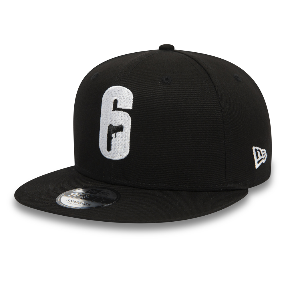 Cappellino 9FIFTY Rainbow Six Siege nero