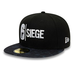 Rainbow Six Siege Black 59FIFTY Cap