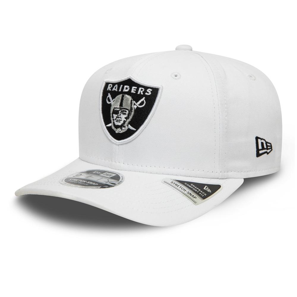 Casquette9FIFTY stretch Las Vegas Raiders, couleur de base blanche