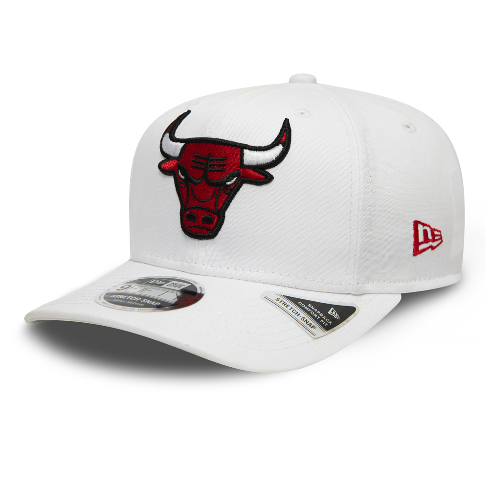 Gorra Chicago Bulls White Base Stretch Snap 9FIFTY