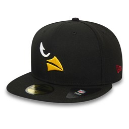 Casquette 59FIFTY Team Tonal Black Arizona Cardinals
