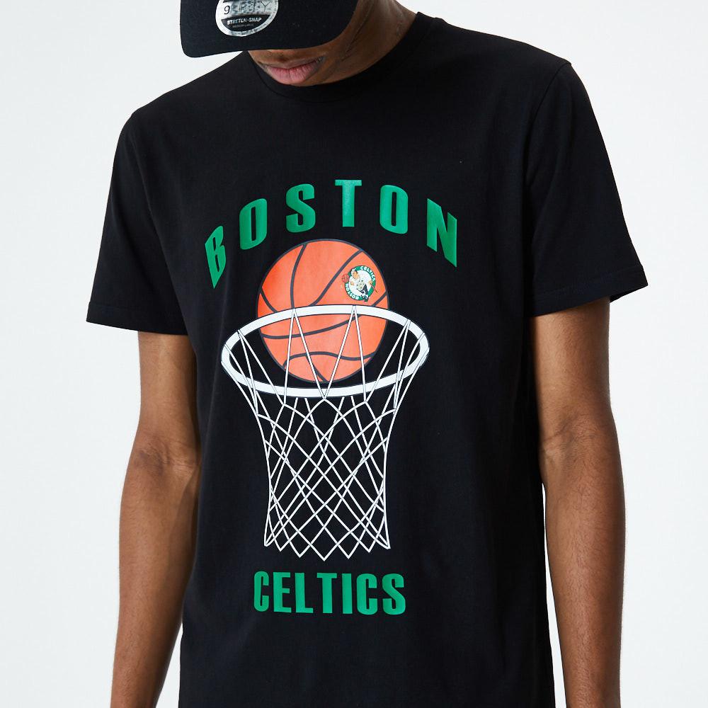 T-shirt noir de Basketball des Celtics de Boston