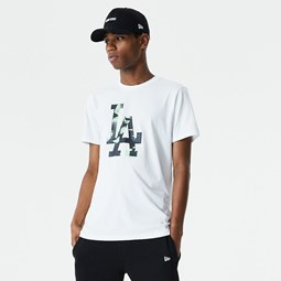 Los Angeles Dodgers Infill White T-Shirt
