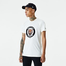T-shirt Cooperstown Detroit Tigers, blanc