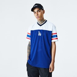 Los Angeles Dodgers Jaquard Oversized Mesh T-Shirt
