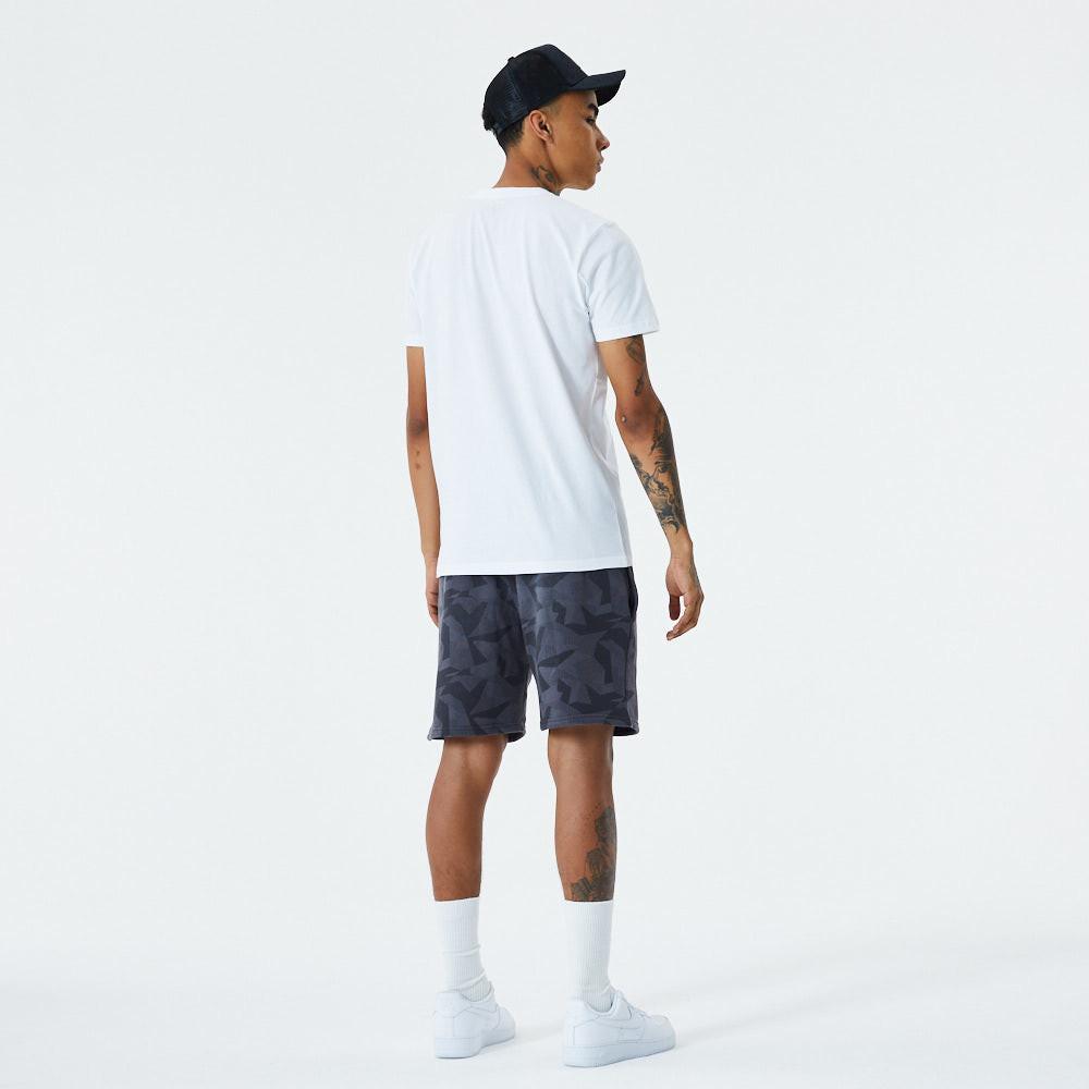 Pantaloncini New Era Geometric Camo grigi