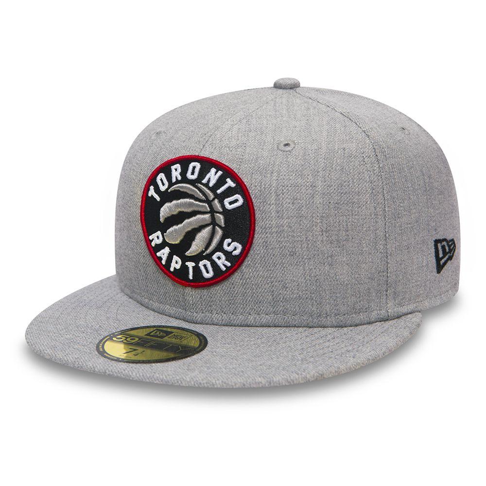 Toronto Raptors Heather 59FIFTY gris