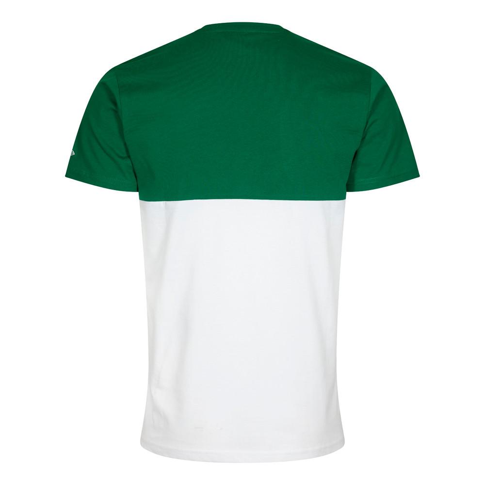 Camiseta Boston Celtics Color Block, blanco