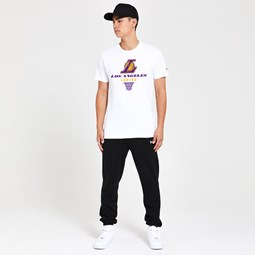 T-shirt Los Angeles Lakers Basket bianca