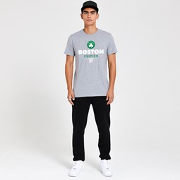 Boston Celtics – Basketball-T-Shirt in Grau