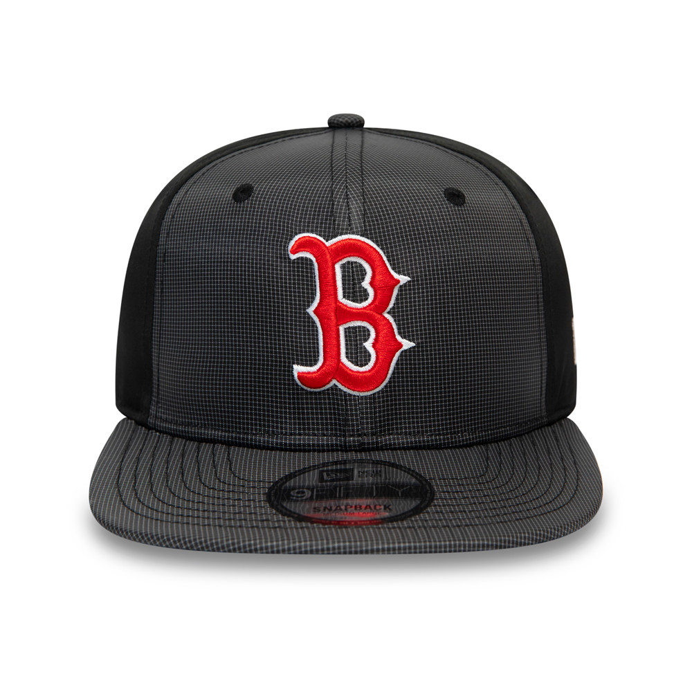 Boston Red Sox Ripstop Front Black 9FIFTY Cap