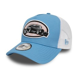 Trucker New Era Hot Rod A-Frame blu