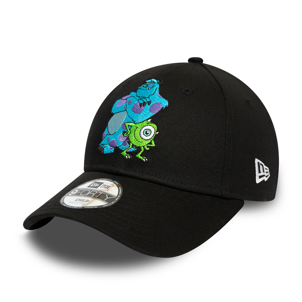 Gorra Monsters Inc 9FORTY, niño, negro