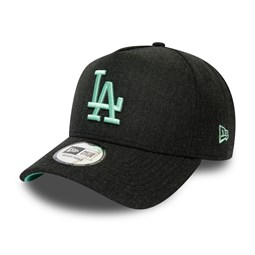 Los Angeles Dodgers Heather Pop Black A-Frame Trucker
