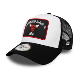 Chicago Bulls Graphic Patch A-Frame Trucker bianco