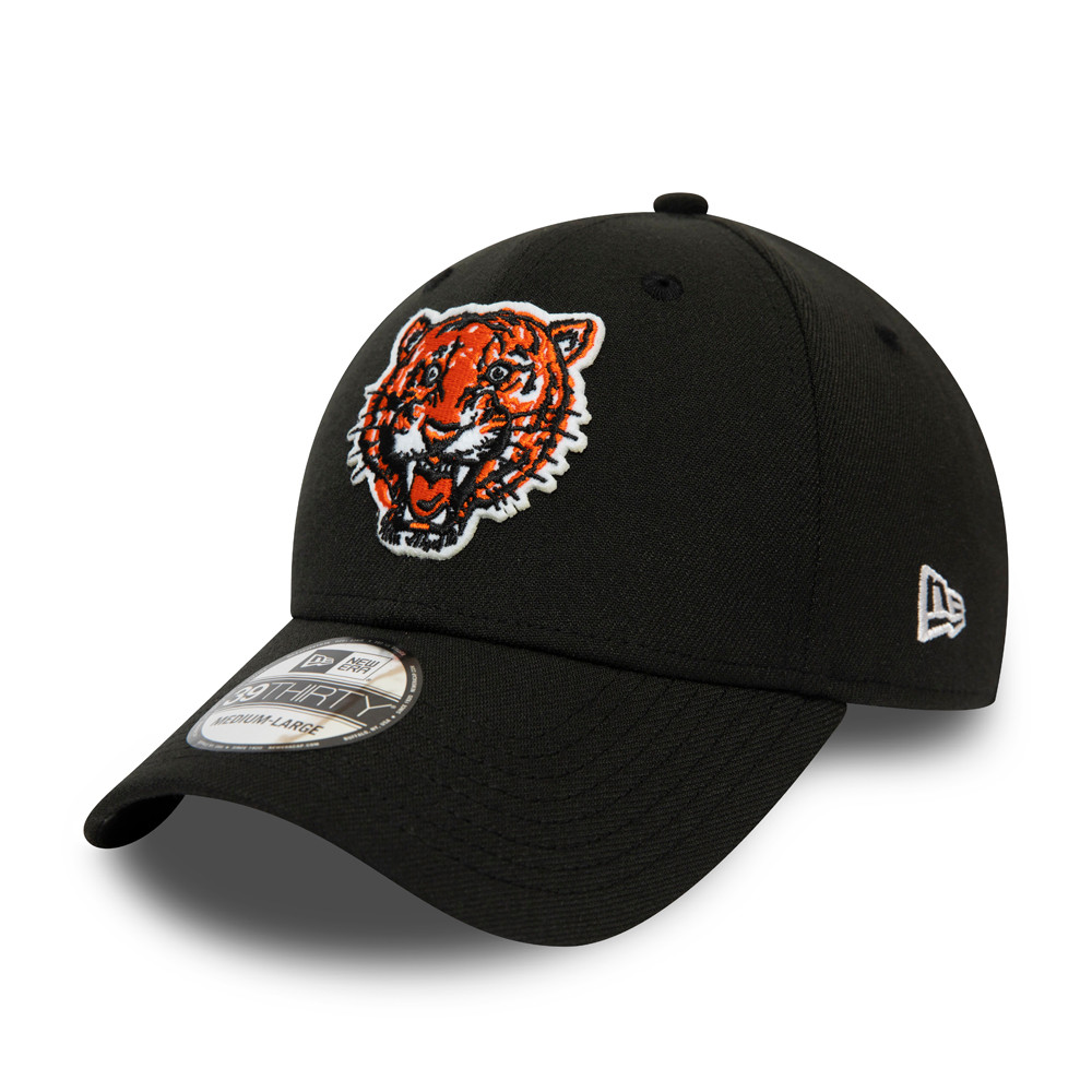 Gorra Detroit Tigers Cooperstown Heritage 39THIRTY, negro
