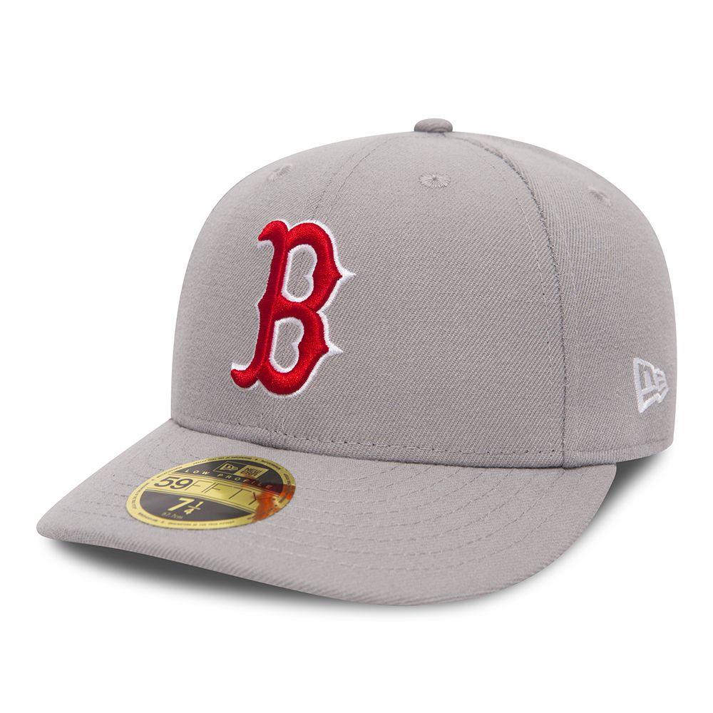 buy popular 0292d 55a67 59FIFTY – Boston Red Sox – Low Profile – Grau