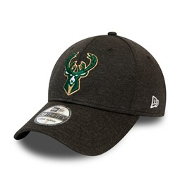 Milwaukee Bucks Black Base Team Pop 39THIRTY Cap