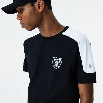 Las Vegas Raiders Single Jersey Black T-Shirt