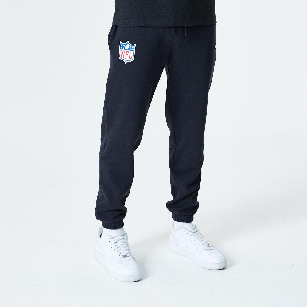 Pantaloni jogger NFL Logo neri mélange