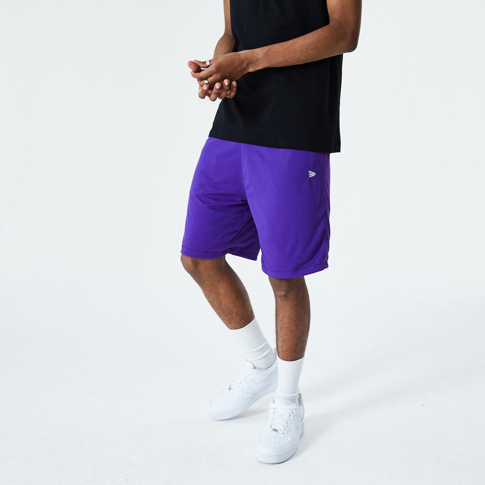 New Era Reversible Purple and Black Shorts