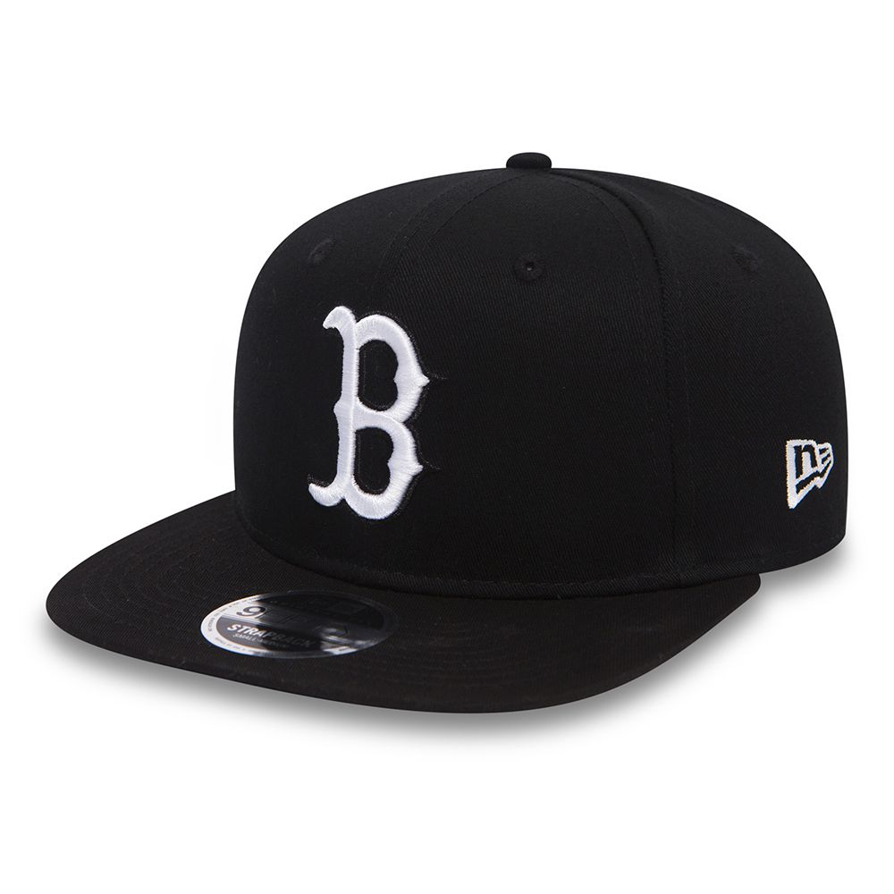 True Originators – Boston Red Sox – 9FIFTY OF Strapback in Schwarz