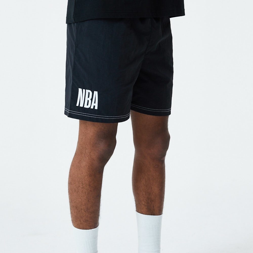 NBA Logo Black Shorts