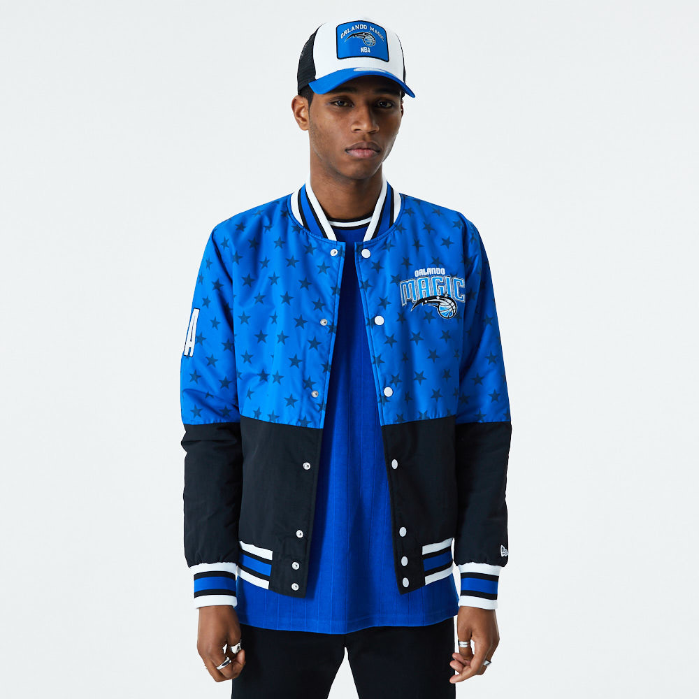 Orlando Magic Colour Block Blue Jacket