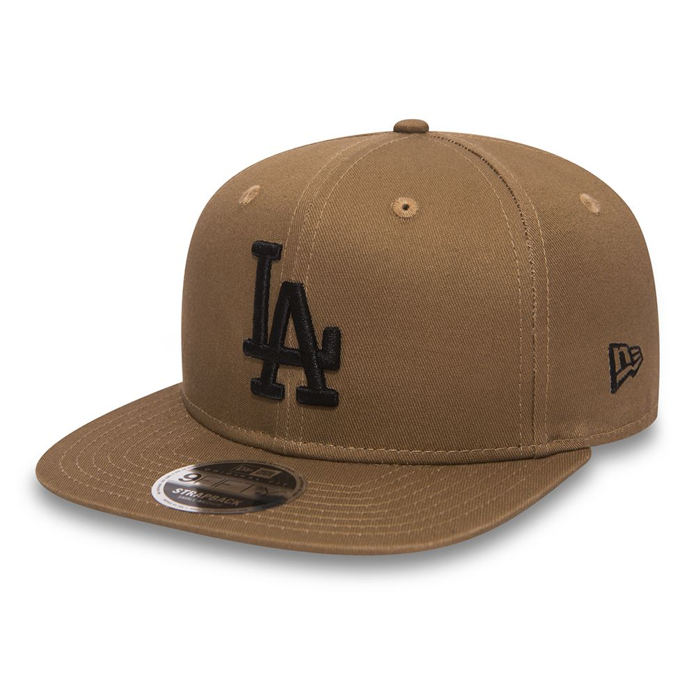 True Originators – Los Angeles Dodgers – 9FIFTY OF Strapback in Khaki
