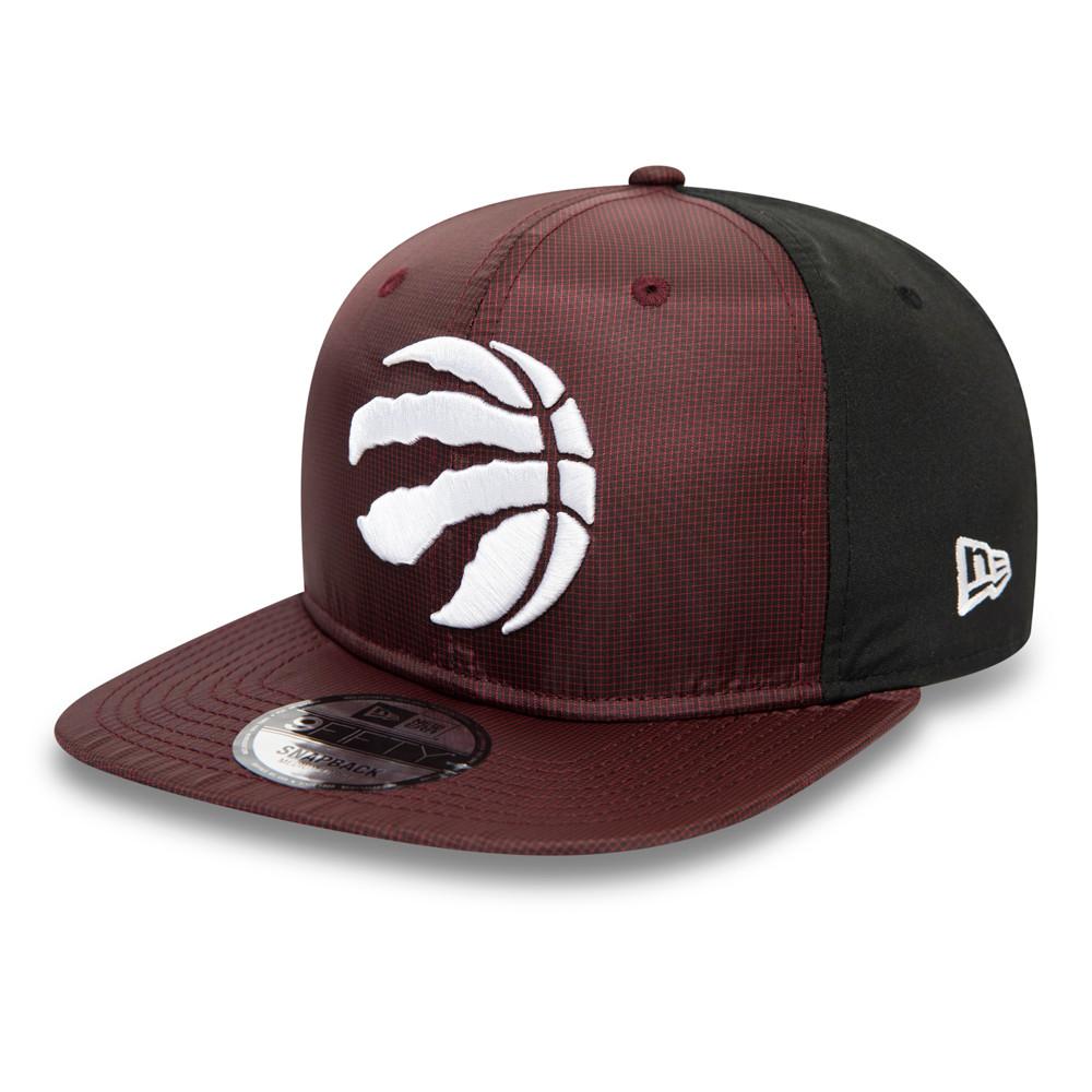 Cappellino Toronto Raptors Ripstop Front 9FIFTY bordeaux