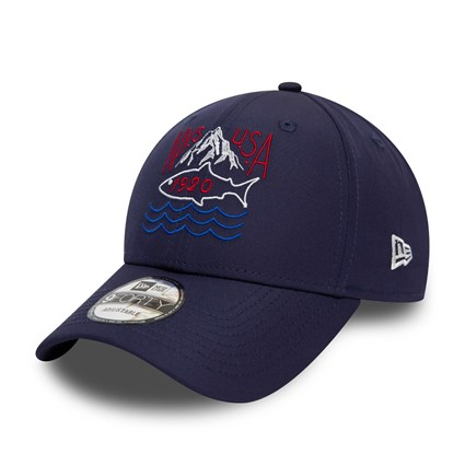 New Era Outdoors Blue 9FORTY Cap