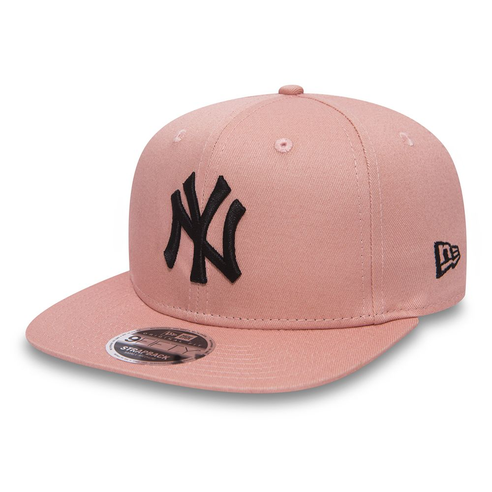 True Originators – NY Yankees – 9FIFTY Original Fit Strapback in Rosa