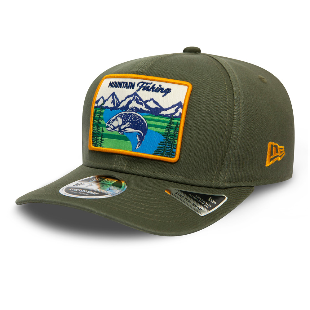 Cappellino 9FIFTY Stretch Snap New Era Outdoors verde