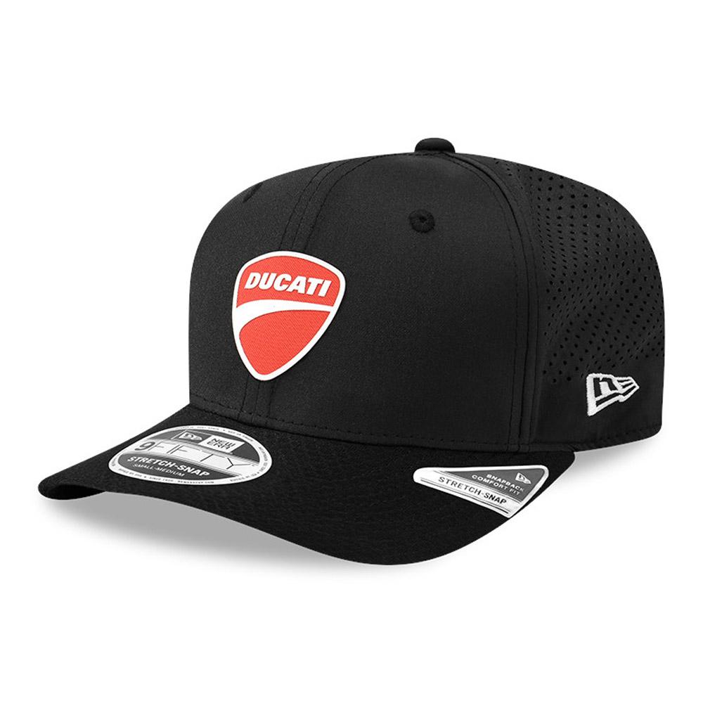 Gorra Ducati Motor Logo Stretch Snap 9FIFTY, negro