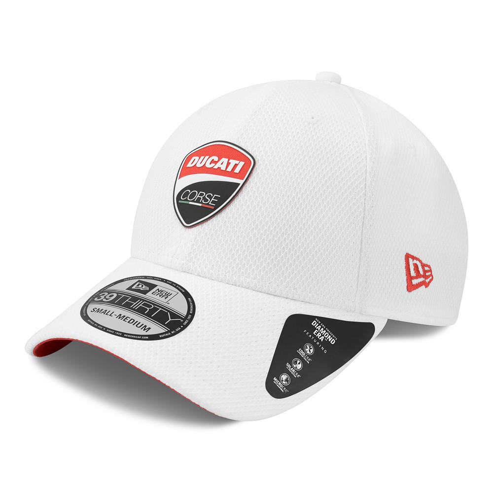 Casquette 39THIRTY avec logo Ducati Motor, blanc