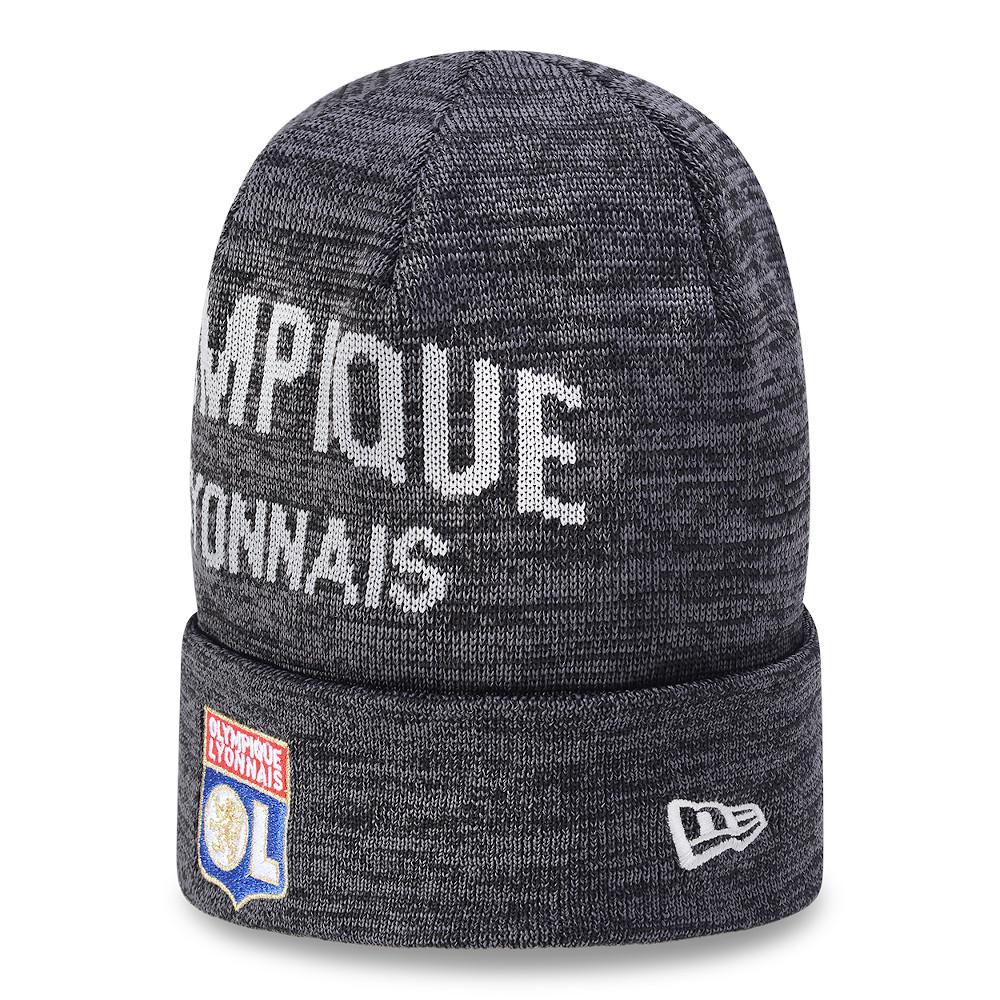 Bonnet à reversOlympique Lyonnais, gris