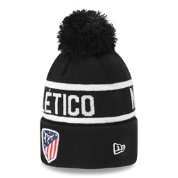 Atletico Madrid Wardmark Black Bobble Knit
