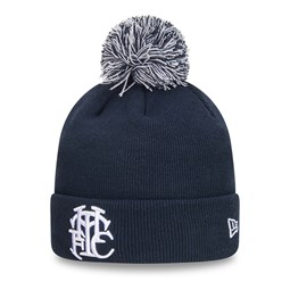 Tottenham Hotspur Navy Bobble Knit