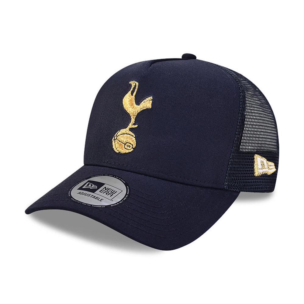 Trucker-Kappe - Tottenham Hotspur - Kappe mit A-Frame aus Baumwolle in Blau