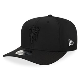 Gorra Manchester United Wordmark 9FIFTY Strapback, negro